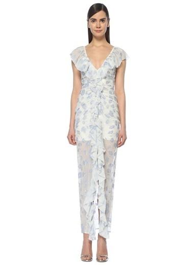 Alice McCall Uzun Abiye Elbise Beyaz